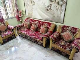 Sofa set - Urgent sell  (3+1+1)