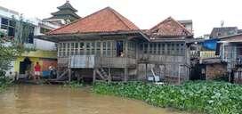 Jual Rumah Lama Pinggir Sungai Musi