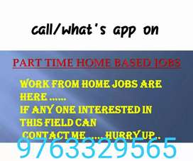 Extra income earn by working at home