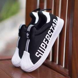 ORIGINAL Adidas Superstar Sepatu Anak Kid Kids Laki-laki Slip On BNWB