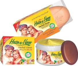 Husn e Noor Herbal Ubtan Cream