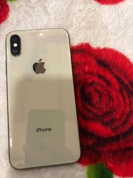 Iphone x s 256 gb gold