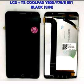 Lcd Touchscreen Coolpad Y80D/Y76/E 501 Black