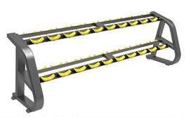 2 Tier Dumbbell Rack with 1 year warranty for sale in cardioworld
