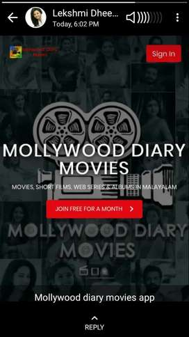 Mollywood diary Movie promotion work100%Genuine with appoinment letter