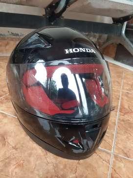 Helm HONDA baru,langsung dari dialer reami ,baru 1x pakai