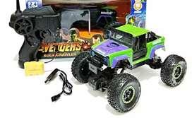 Mainan Mobil Remot Control Rock Crawler Avengers Hulk