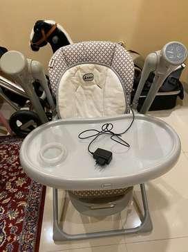 Fabio Baby Chair Kondisi 98% mulus+ayunan elektrik&music
