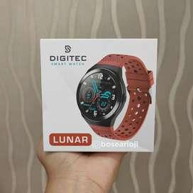 Jam Tangan Smartwatch Digitec Lunar Red