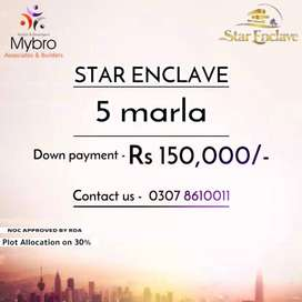 Star Enclave General Block 5 Marla file for sale at good/low rate