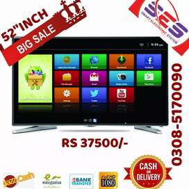 Full Android Samsung 52 inch smart Uhd display Led TV