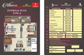 Flat For Sale In Alliance Square Surjani Town Kara