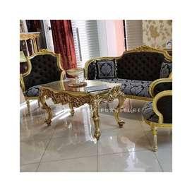 Set Kursi Sofa Mewah Ukir Victoria Simple 311
