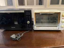 Panasonic and bajaj oven
