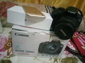 Canon EOS 1300D Rp. 6.200.000
