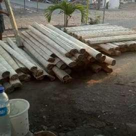 Melayani berbagai ukuran Tirai bambu