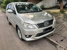 Toyota Kijang Grand Innova G bensin manual tahun 2012 plat Surabaya