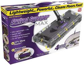 Swivel Sweeper Max Lightweight Rechargeable Cordless Sweeper