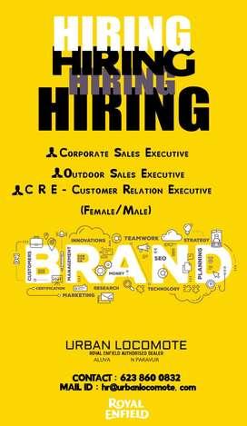 Customer Relation Executive / Service Marketing Executive