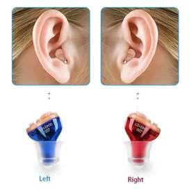Alat bantu dengar mini CIC hearing aid tidak terlihat