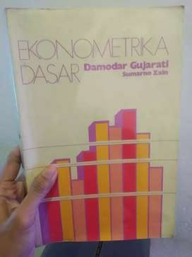 Buku ekonometrika dasar