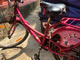 Kids cycle bicycle mobile rent shop land