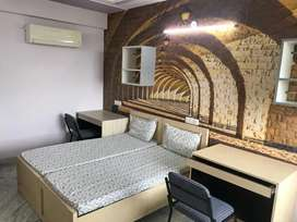 Luxuary furnished room and well facility room available with food...