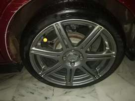 17 inch rim and tyre