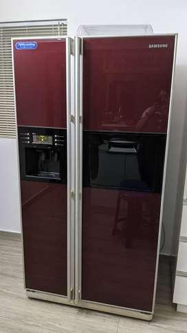 Samsung 500 Litre Side By Side Door Fridge