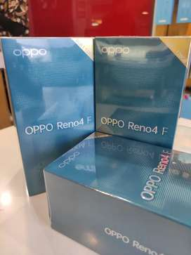 Oppo Reno 4F new, garansi resmi