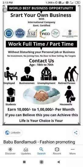 Part time more than earn