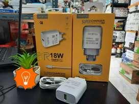 Travel Charger Realme 18watt micro usb