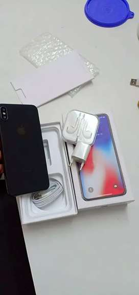 Apple iPhone x 256 gb with bill box on cod