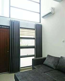 Desain gorden gordyn hordeng jendela eranya minimalis