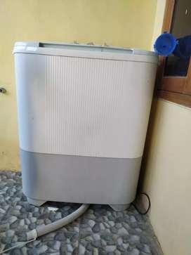 Mesin cuci sharp 7kg belum pernah rusak