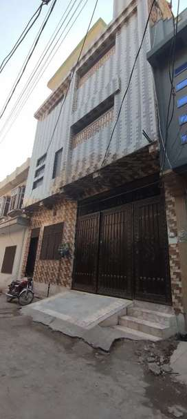 Newly built 3 rooms flat Javed town alsyed street