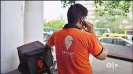Swiggy hiring delivery boys for fulltime,part-time and weekend shifts