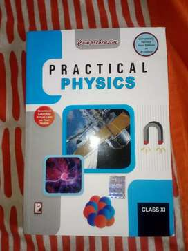 Physics practical text class 11 good condition