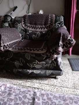 Sofa in purple color