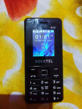 Rocktel 10 new with earphone and charger