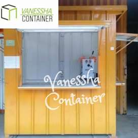 BOOTH CONTAINER CUSTOM / CONTAINER USAHA / CONTAINER ANGKRINGAN BOOTH