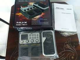 Effect Guitar Nux MG100 Multi Effect Suara Mantap Murah Meriah