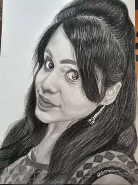 GIFT OWN PENCIL PORTRAITS TO YOUR LOVE ONE