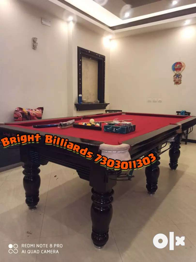 Pool table manufacturer standard size 4x 8 0