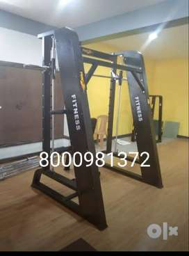 Gym Equipment  Approx- 5 to15 Lakhs - )new full gym setup