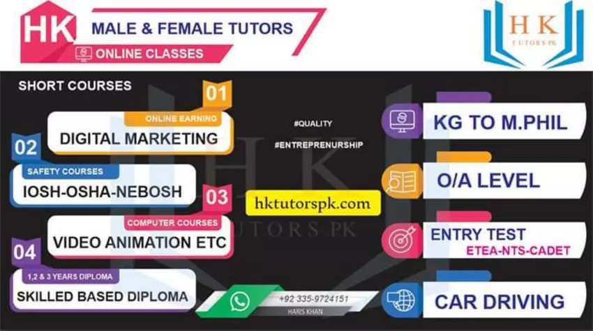 Kg-Msc _O/A level Online Entry Test Preparation. ETEA Cadet 0
