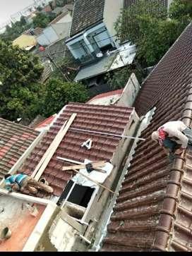 Ahli Bocoran atap,dinding,dak,talang,pasang kramik,plafon,caf,kolam