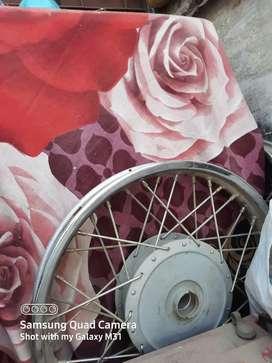 Spoke wheel and Handel