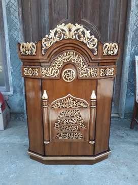Mimbar ceramah masjid klasik memalic