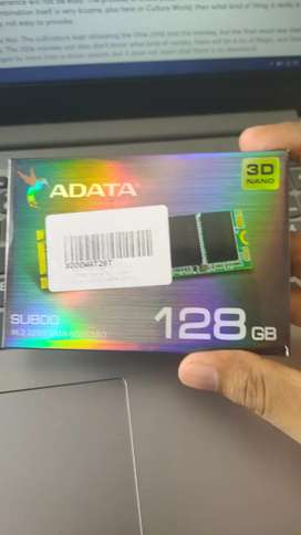 ADATA M.2 SSD  128gb 2500rs